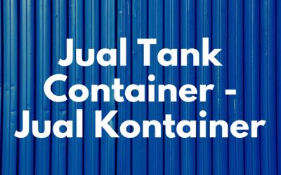 Jual Tank Container – Jual Kontainer Baru dan Bekas