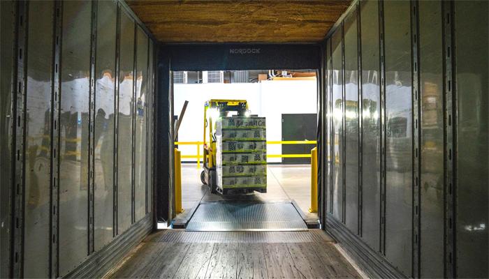 gudang serbaguna dari kontainer bekas