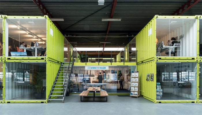 Langkah Modifikasi Container Co-Working Space