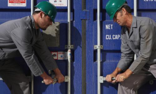 Harga Open Side Container Baru Bekas - Jual dan Sewa Kontainer