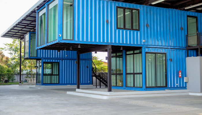 rental container office